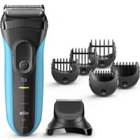 Braun Series 3 Shave & Style 3010BT 3-in-1 Electric Wet & Dry Shaver / Razor for Men with Precision Beard Trimmer