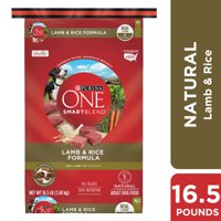 Purina One SmartBlend Lamb & Rice Formula Dry Dog Food (Various Sizes)