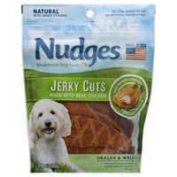 Nudges Jerky Cuts Made with Real Chicken