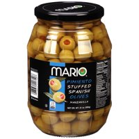 Mario® Pimiento Stuffed Manzanilla Spanish Olives 21 oz. Jar