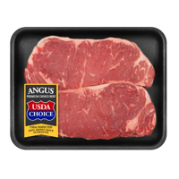Beef Choice Angus New York Strip Steak, 0.82 - 1.57 lb