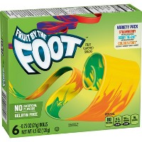 Fruit by the Foot Variety Pack Fruit Snacks - 6ct