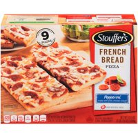 STOUFFER'S FRENCH BREAD PIZZA Pepperoni Pizza, Family Size, Frozen Meal