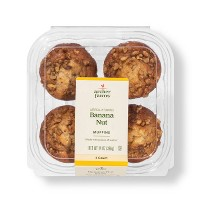 Banana Nut Muffins - 4ct - Archer Farms™