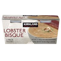 Kirkland Signature Lobster Bisque Soup, 2 x 20 oz