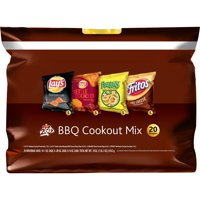 Frito-Lay BBQ Mix Variety Snack Pack, 20 Count