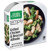 Healthy Choice Simply Frozen Chicken Broccoli Alfredo - 9.15oz
