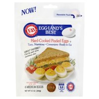 Egg-Land's Best Farm Fresh Medium Grade A White Hard Cooked Eggs, 6 Count