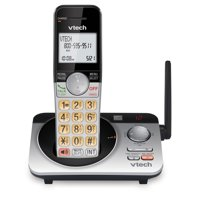 VTech Extended Range DECT 6.0 Expandable Cordless Phone with Answering System, CS5229 (Silver/Black)