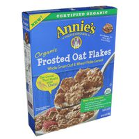 Annie's Homegrown Cereal, Organic, Frosted Oat Flakes
