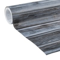 EasyLiner Adhesive Laminate 20 In. x 15 Ft. Self Liner, Weathered Wood