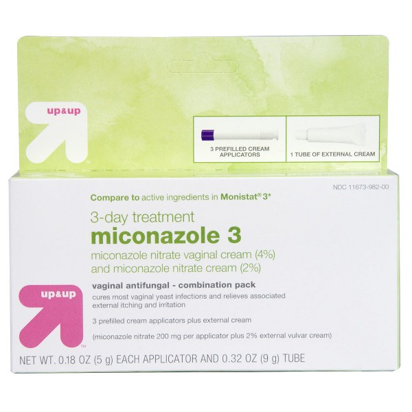 Miconazole 3 Day Treatment Combo Pack- Up&Up™