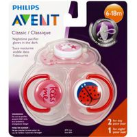 Philips Avent Classic Nighttime Pacifier