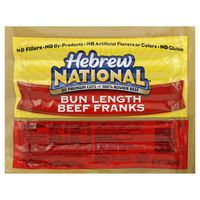 Hebrew National Bun Length Franks