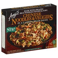Amy's Chinese Noodles & Veggies, Cashew Cream Sauce, 9.5-Ounce