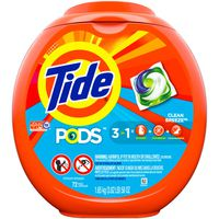 Tide PODS Liquid Laundry Detergent Pacs, Clean Breeze