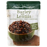Central Market Quick Heat Barley & Lentils