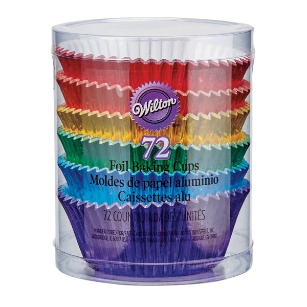 Wilton Multicolored Foil Baking Cups