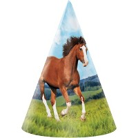 24ct Wild Horse Party Hats