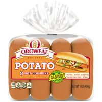 Oroweat Country Potato Hot Dog Rolls