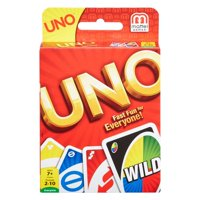 UNO Card Game Color & Number Matching for 2-10 Players Ages 7Y+