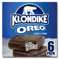 Klondike Ice Cream Bars Oreo 6 ct