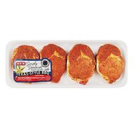 H-E-B Ready To Cook Texas Style Bbq Seasoned Boneless Pork Ribeye Chops