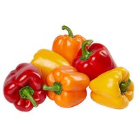 Mixed Bell Peppers, Greenhouse Grown, 6 ct