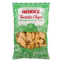 Herdez Tortilla Chips, Authentic White Corn Masa 11 oz.