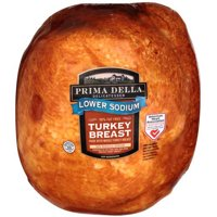 Prima Della Lower Sodium Turkey Breast, Deli Sliced