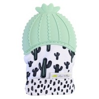 Itzy Ritzy Teething Mitt Cactus - Green