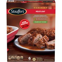 STOUFFER'S CLASSICS Meatloaf, Family Size Frozen Meal