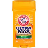 Arm & Hammer Ultra Max Fresh Advanced Sweat Control Antiperspirant Solid