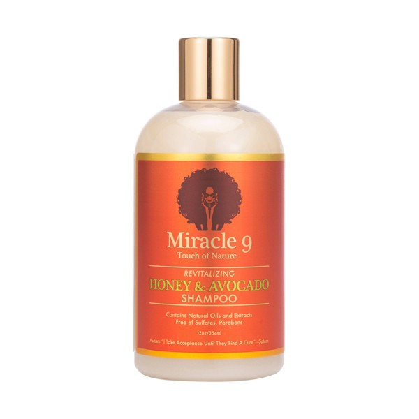 Miracle 9 Touch Of Nature Revitalizing Shampoo - 12 fl oz