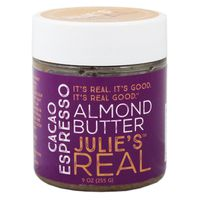 Julies Real Almond Butter, Cacao Espresso