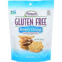 Miltons Crackers, Baked, Gluten, Everything