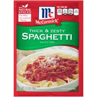 McCormick® Thick And Zesty Spaghetti Sauce Mix
