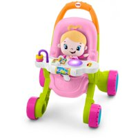 Fisher-Price Stroll 'n Learn Walker Gift Set with Laugh & Learn Doll