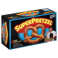 SuperPretzel Frozen Baked Soft Pretzels - 6ct/13oz