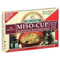 Edward & Sons Miso Cup Organic Traditional Soup with Tofu