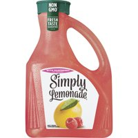 Simply Lemonade with Raspberry, All Natural Non-GMO, 2.63 Liters