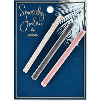 Sincerely Jules by Scünci Assorted Salon Clips - 2pk