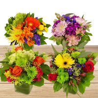 Single Floral Arrangement, Assorted Varieties