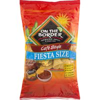 On The Border Fiesta Size Tortilla Chips
