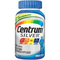 Centrum Silver Men 50+ Multivitamin Dietary Supplement Tablets - 200ct
