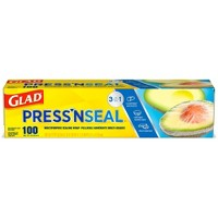 Glad Press'n Seal Plastic Food Wrap - 100 sq ft