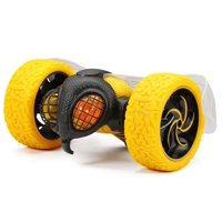"New Bright RC Stunt 10"" Radio Control USB Charging TumbleBee - Yellow"