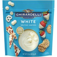 Ghirardelli White Melting Wafers Candy Coating, 10 oz