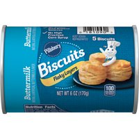Pillsbury Grands! Flaky Layers Buttermilk Biscuits 5 Ct 6 oz