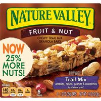 Nature Valley Chewy Granola Bar, Trail Mix, Fruit and Nut